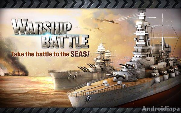 warship battle 3d world war II logo