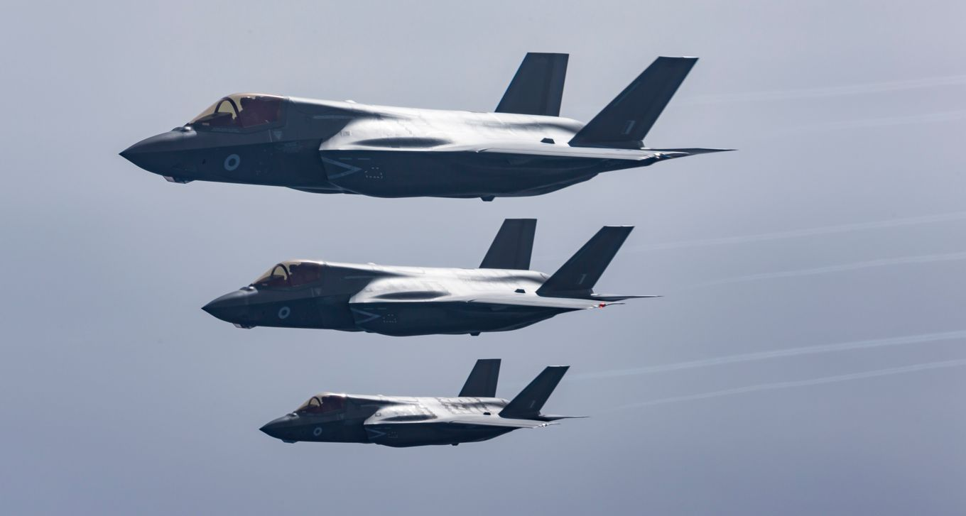 MIRAGEC14: First overseas deployment of RAF F-35Bs to Cyprus