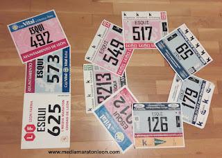 10 Medias maratones de Leon