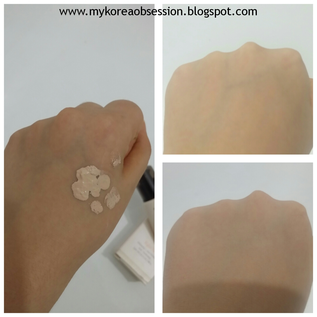 ETUDE HOUSE Precious Mineral Perfect Fit BB Cream Review swatches before after