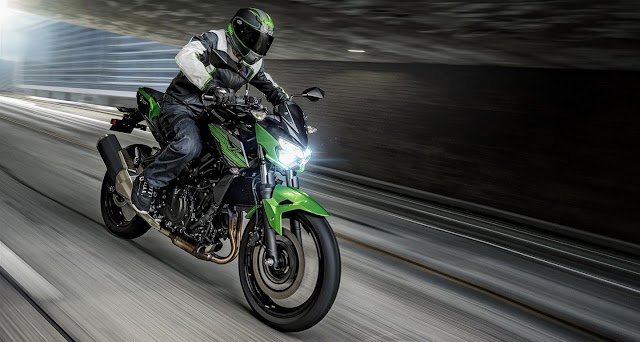 All New Kawasaki Z250 2019