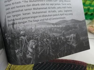 Muhammad Al-Fatih, saat memimpin perang bersama pasukannya (dokpri)