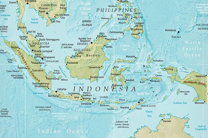 Dlium Transportation in Indonesia