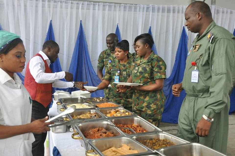 Image result for Chief of Air Staff celebrates Sallah with troops