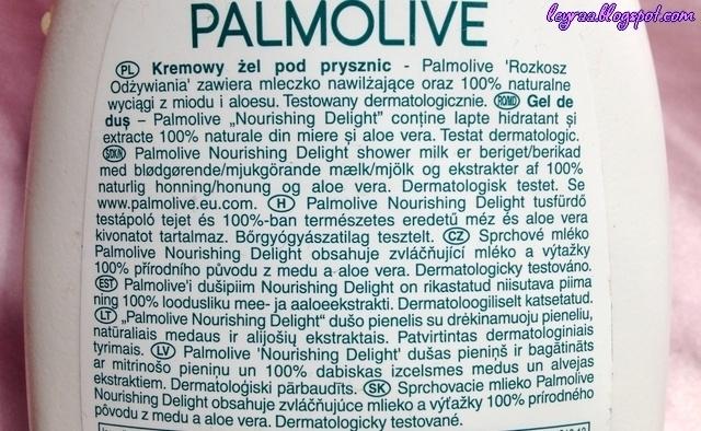Palmolive, Naturals, Nourishing Delight, Shower Milk (Kremowy żel pod prysznic z miodem i mlekiem