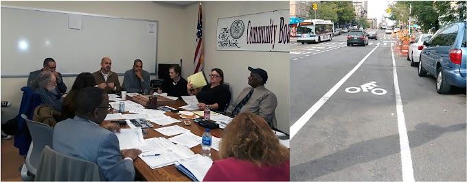 Junta Comunitaria aprueba remover ciclo vías en calles y avenidas del Alto Manhattan