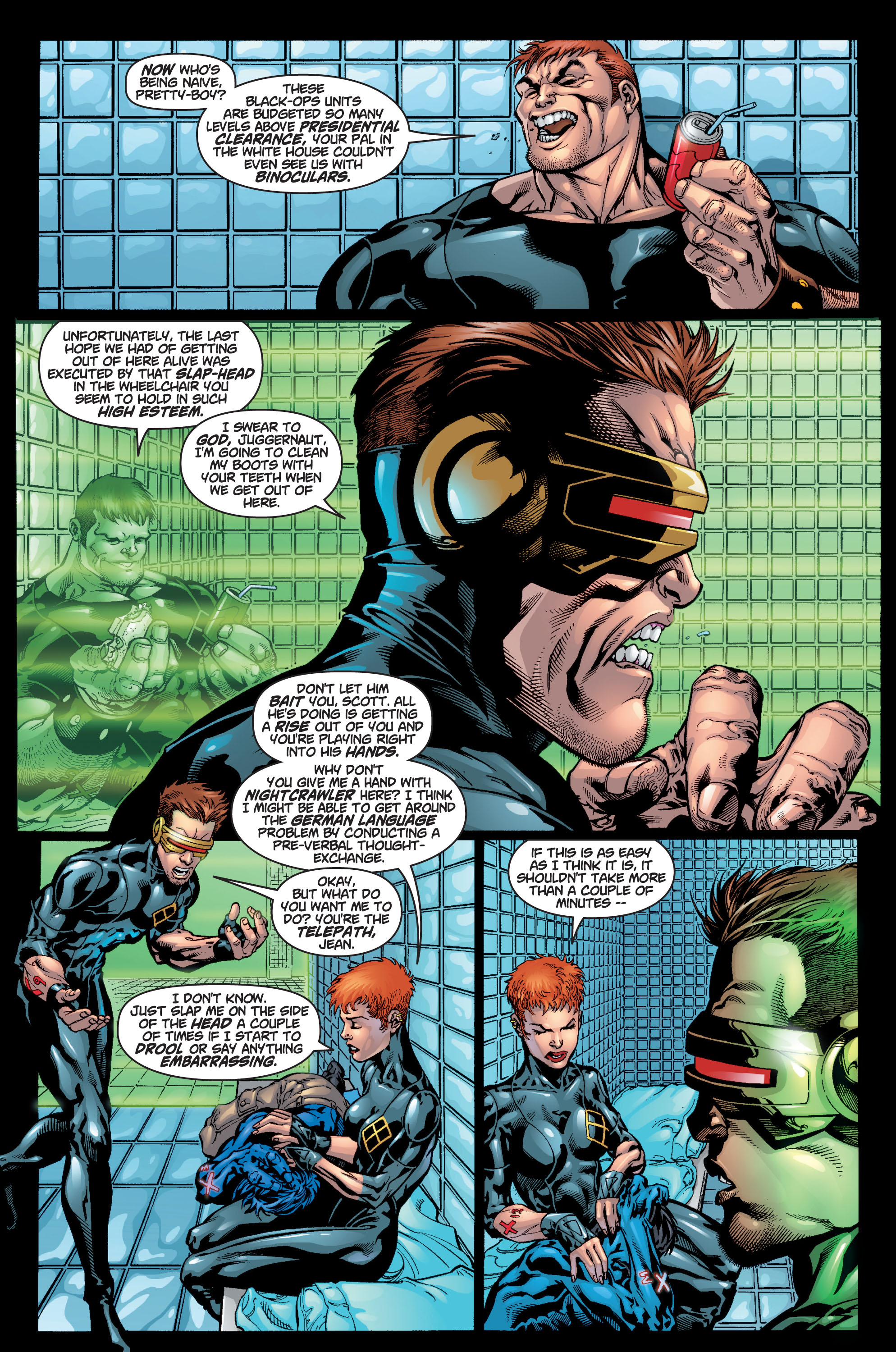 Read online Ultimate X-Men comic -  Issue #9 - 18