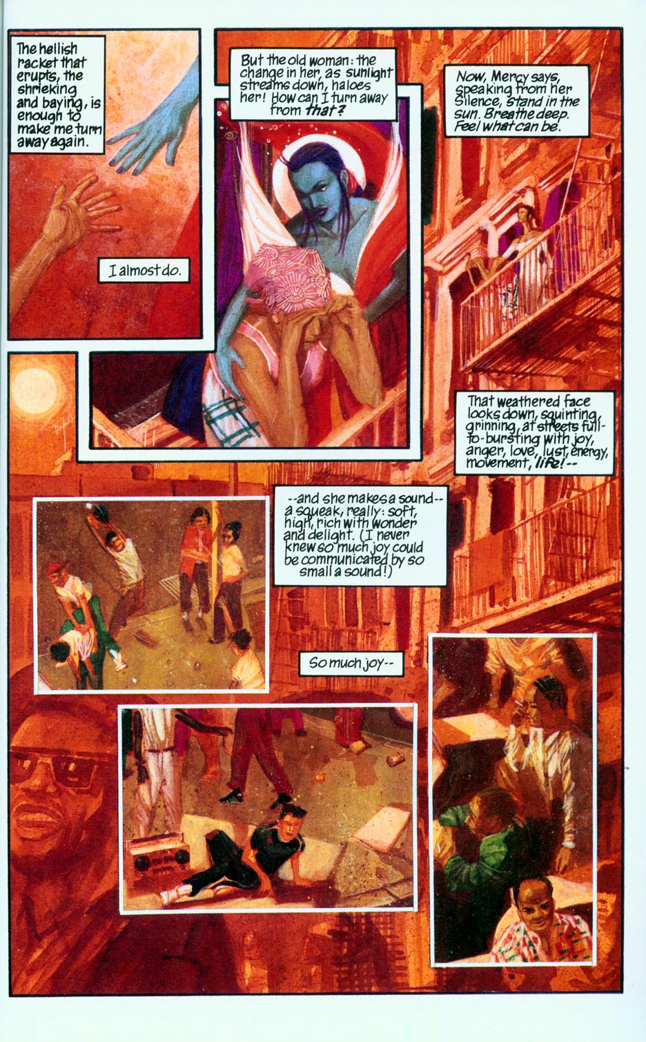 Read online Mercy comic -  Issue # Full - 42