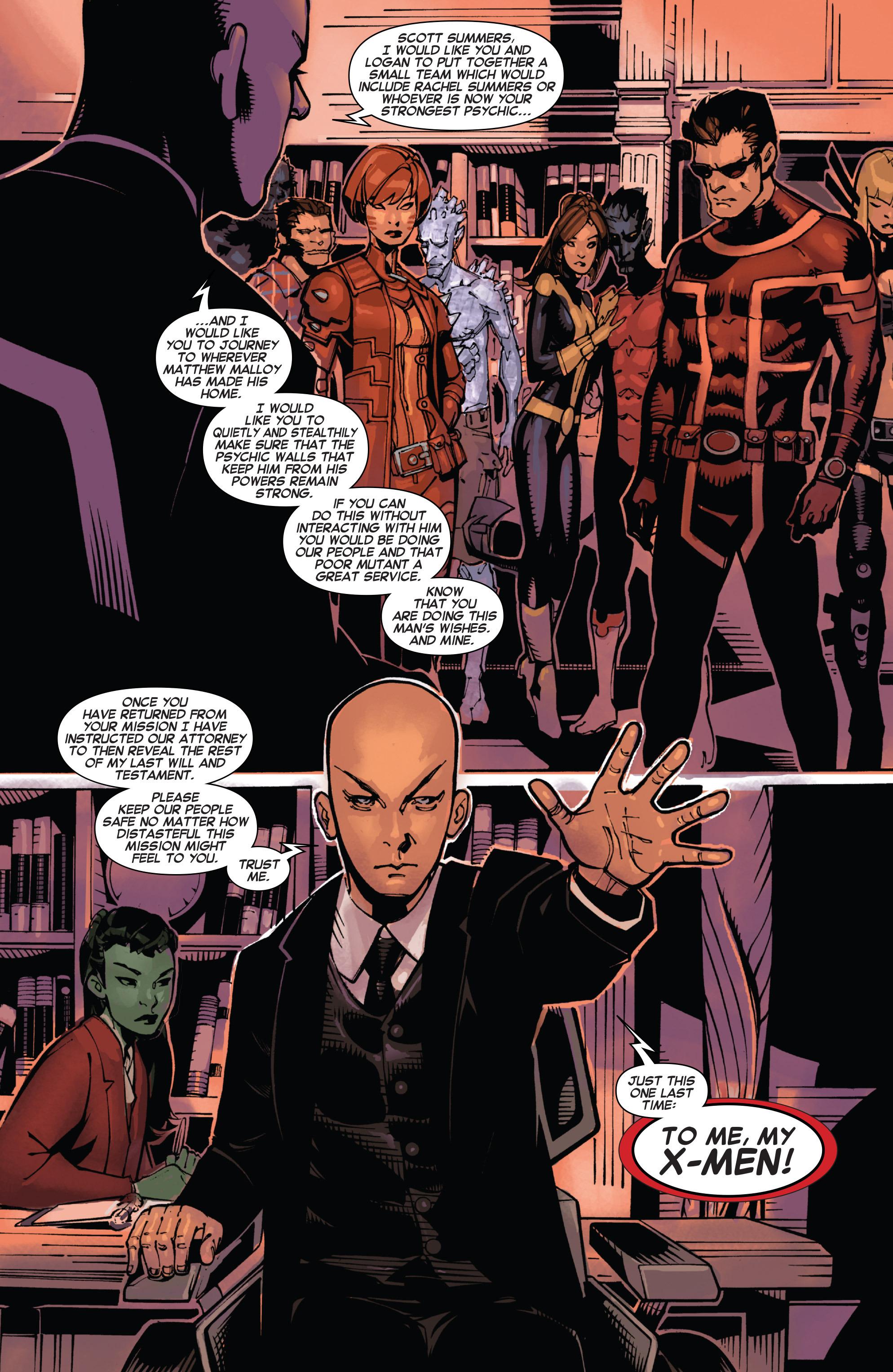 Read online Uncanny X-Men (2013) comic -  Issue #25 - 25