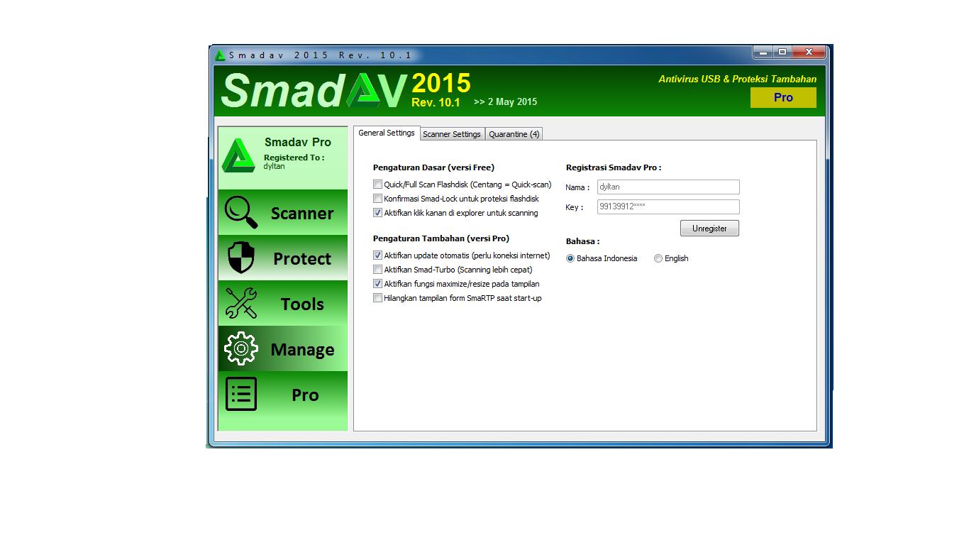 Kluet Aplikasi: Download Free Smadav Pro Rev 10.0.0 Full ...