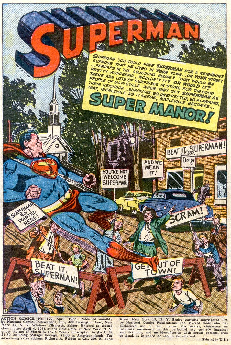 Read online Action Comics (1938) comic -  Issue #179 - 2