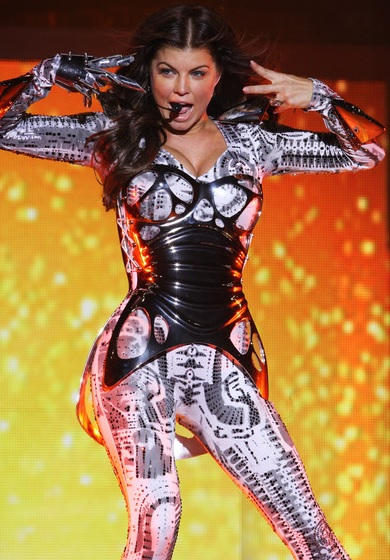 Foto de Fergie en el escenario