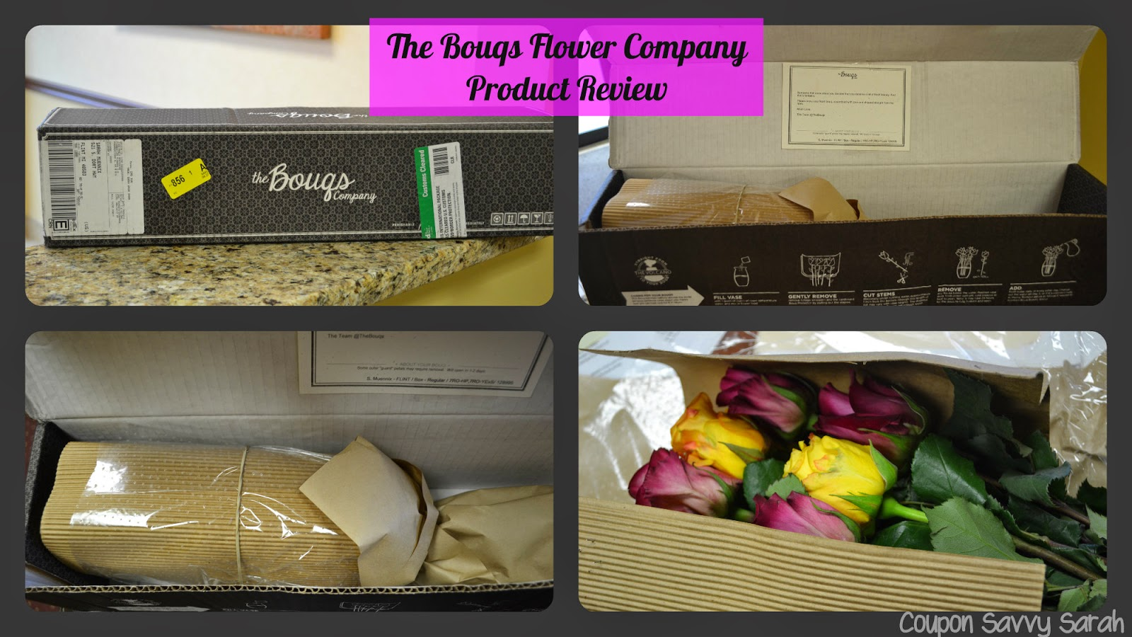 Coupon Savvy Sarah: The Bouqs Flower Company Review