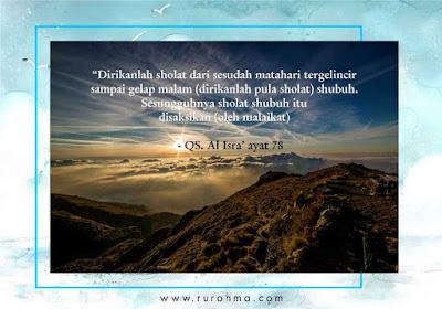 Godaan saat Sholat Shubuh Berjamaah