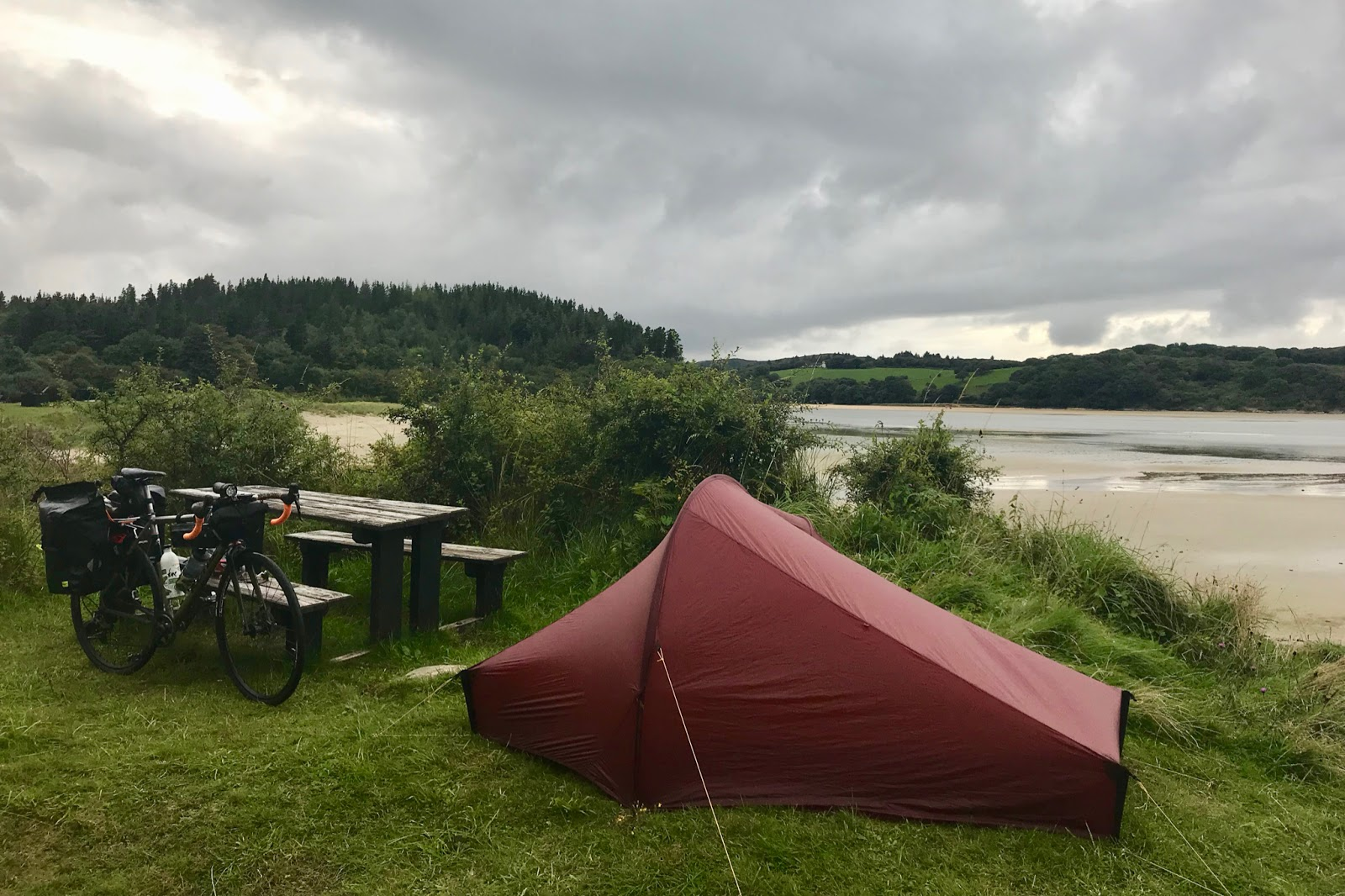 Wild Camping Bicycle Touring | Tim Wiggins