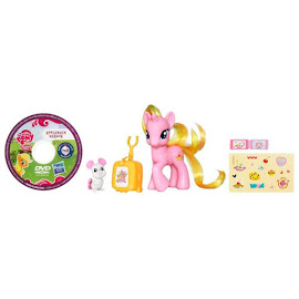 MLP Traveling Single with DVD Cherry Pie Brushable Pony