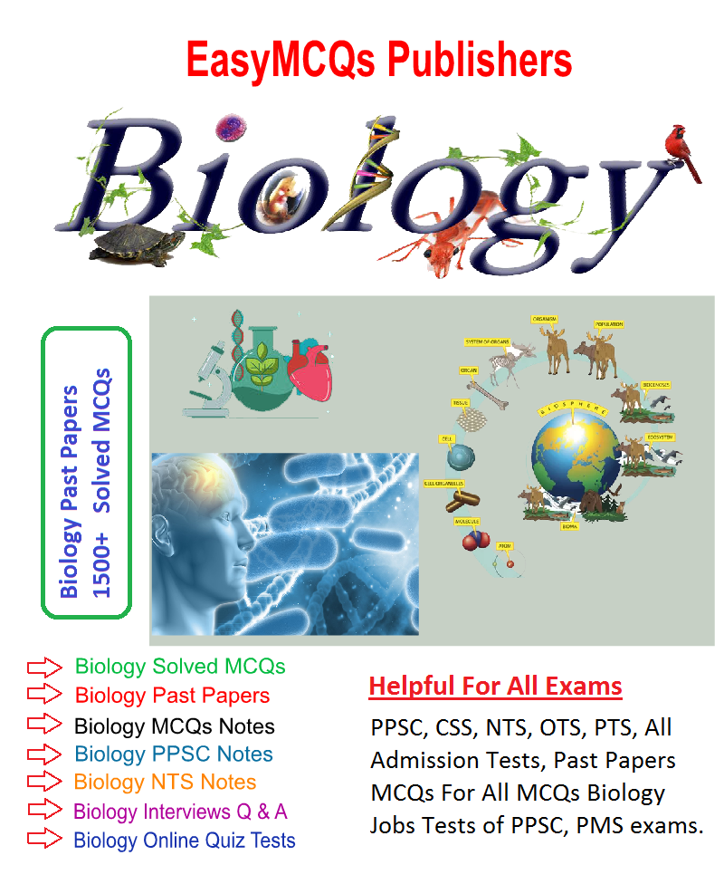 Biology Solved MCQs PDF Book Download - Easy MCQs