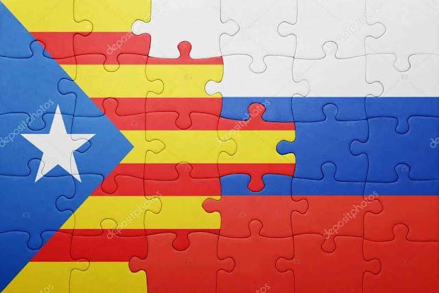 No quebra-cabeça da Catalunha as peças russas e catalãs separatistas se encaixam na perfeição.