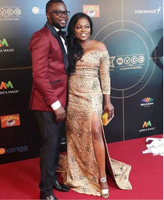 #AMVCA2017: Funke Akindele Wins 'Best Actress In A Comedy' Again