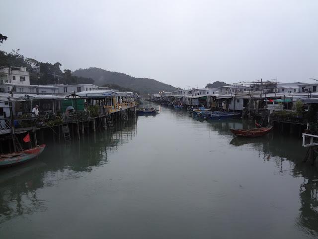 El pueblo de Tai O en Hong Kong