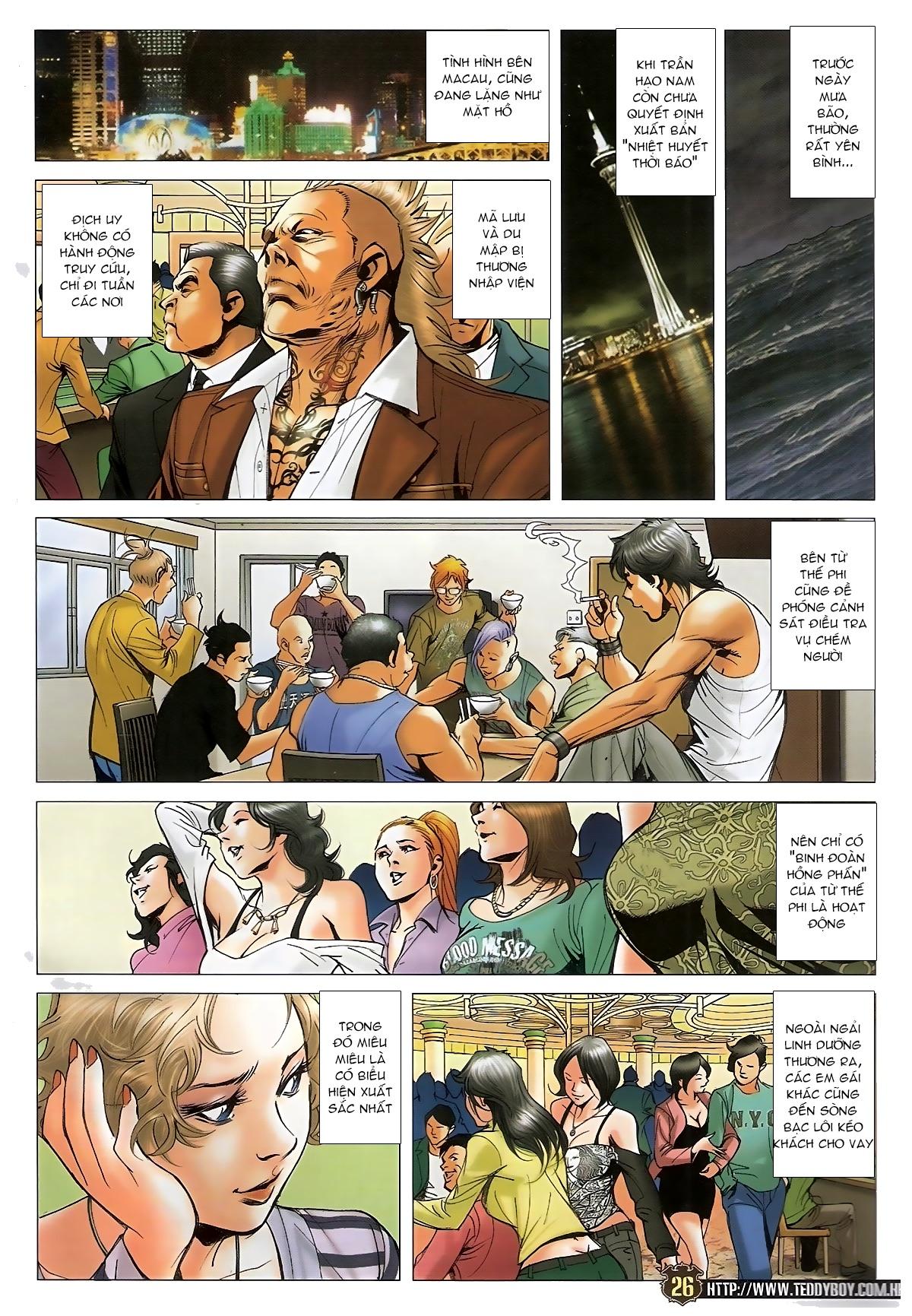 Người Trong Giang Hồ - Chapter 1573: Chuyện bên bếp lẩu - Pic 22