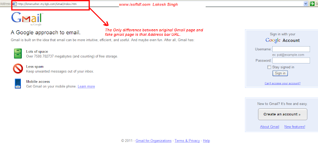 Hack Gmail using Phishing demo