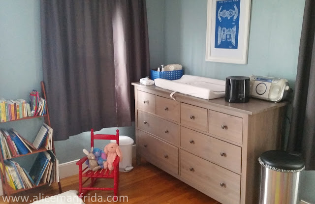baby's first bedroom, nursery, baby room, baby boy, children's bedroom, changing table,