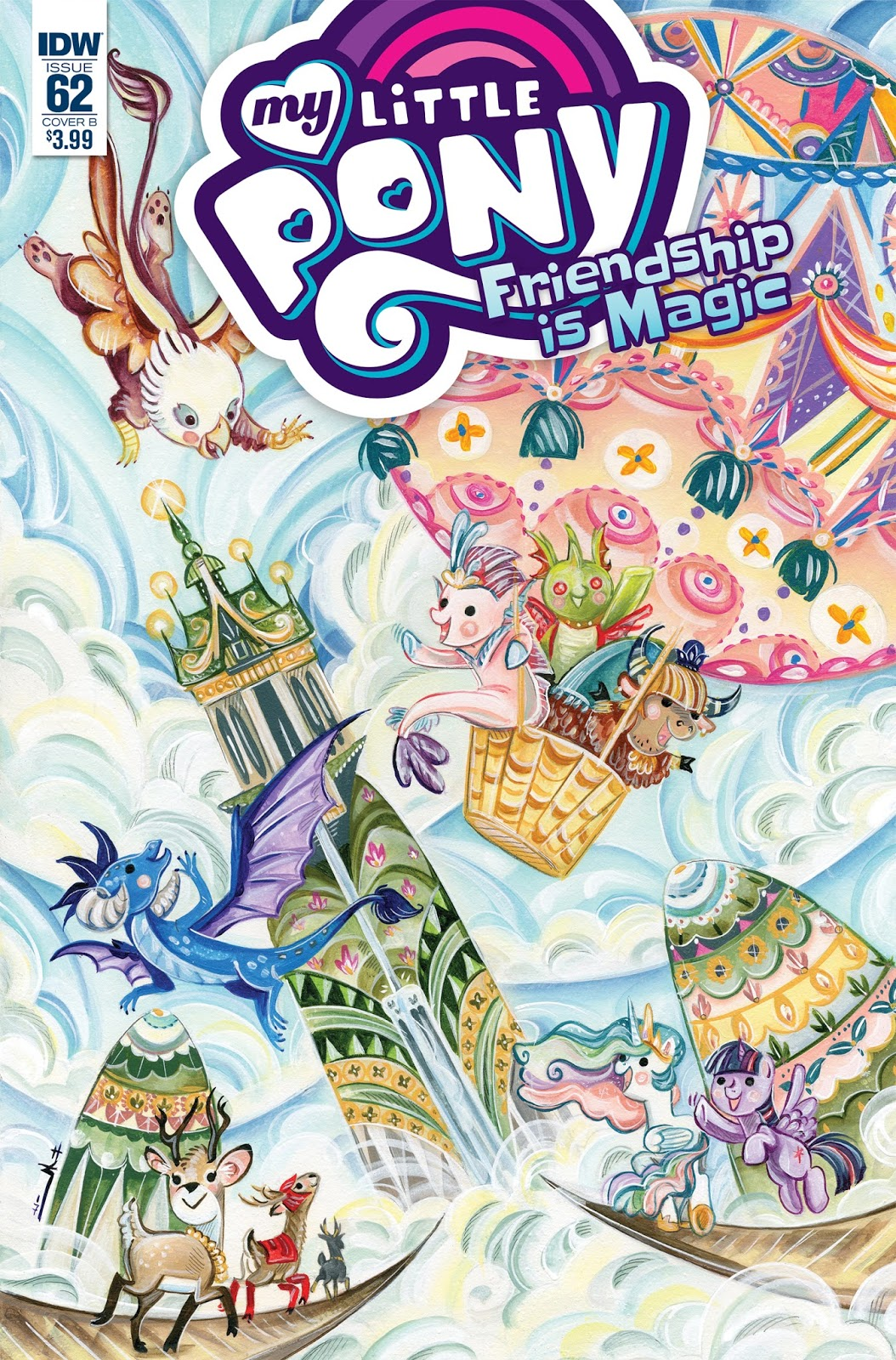 Three Page Preview For My Little Pony Comic 62