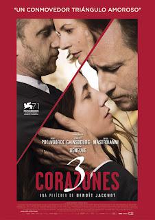 Cartel: 3 corazones (2014)