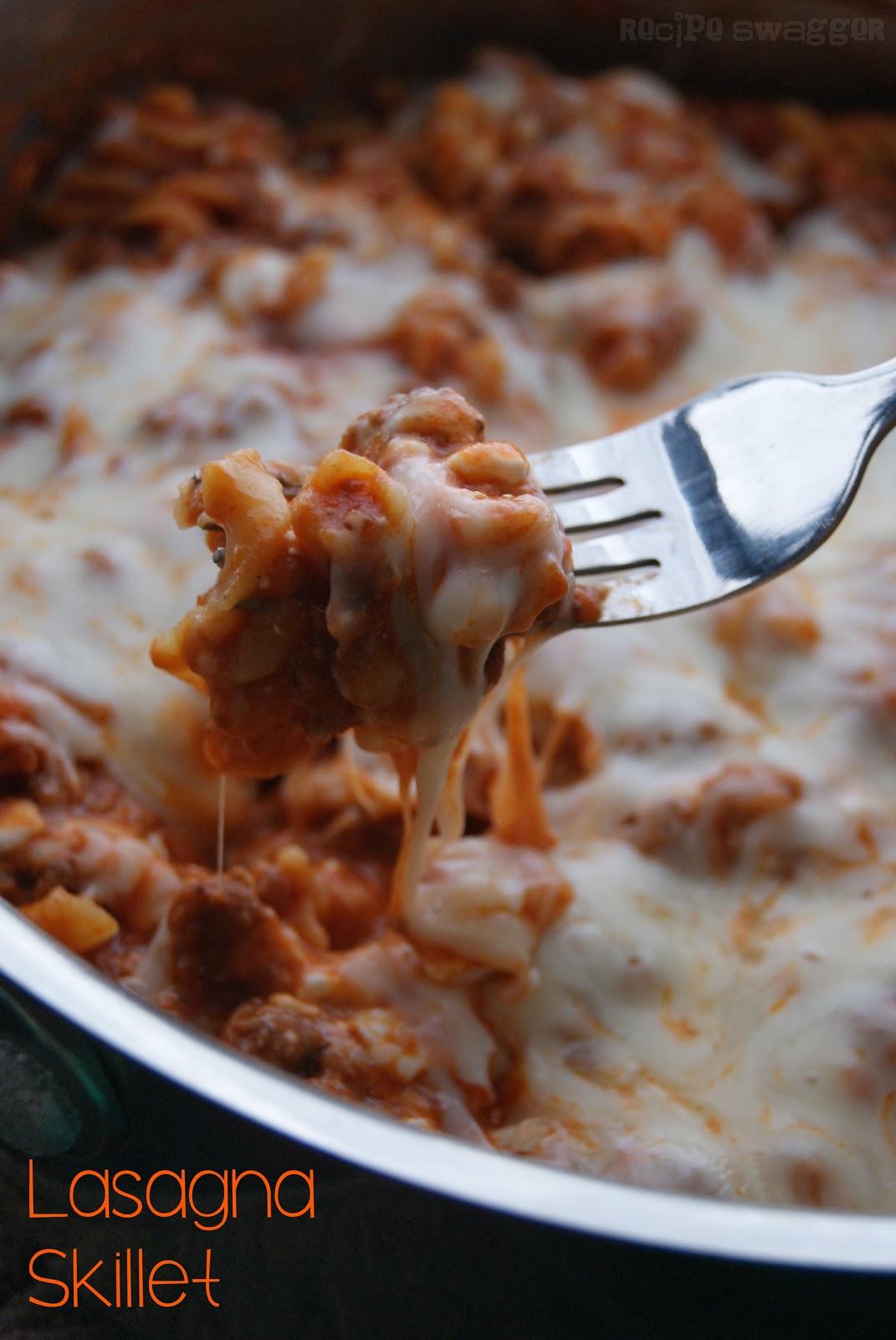 Lasagna Skillet