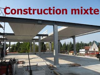 Construction Mixte, Association acier-béton, Eurocode 4, Poteaux Mixtes, Poutres Mixtes, Planchers Mixtes.