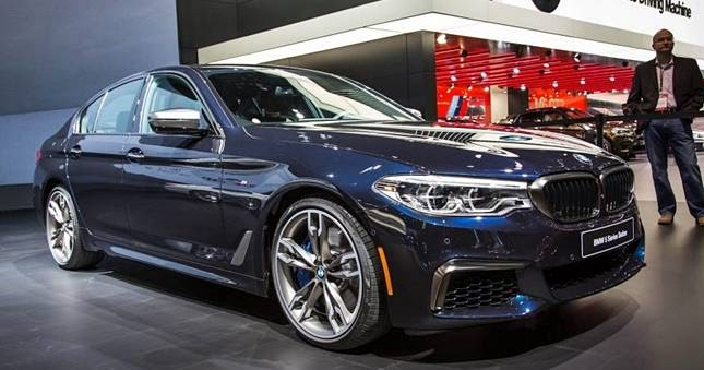 2018 Bmw 5 Series Sedan M550i Activehybrid Price Bmw