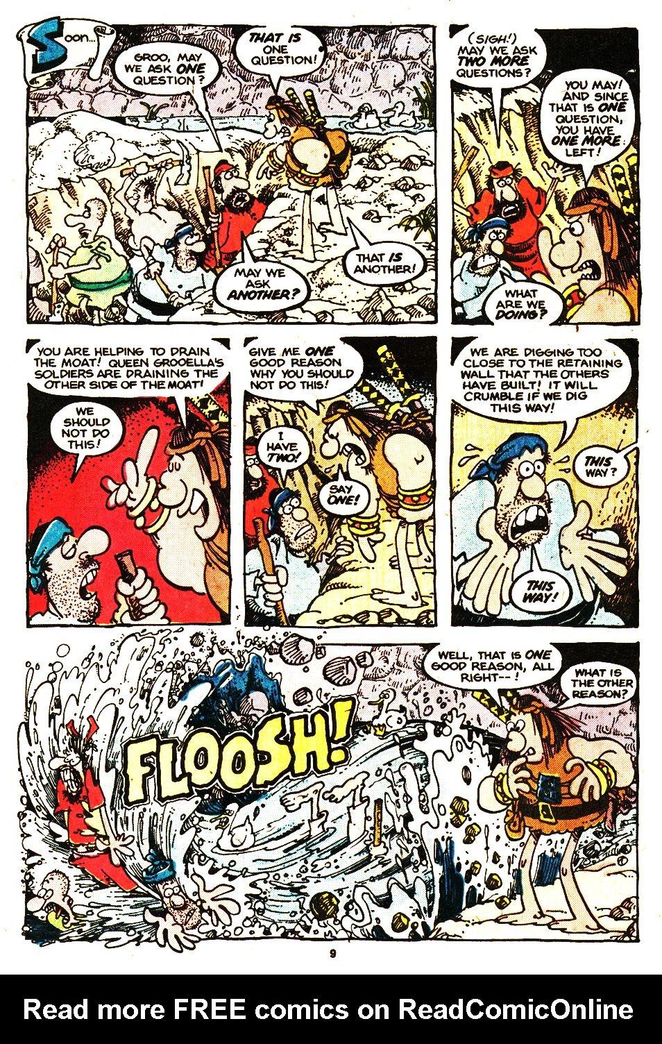 Read online Sergio Aragonés Groo the Wanderer comic -  Issue #20 - 9