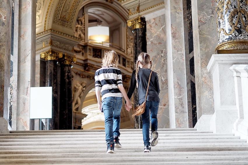Treppenaufgang Kunsthistorisches Museum