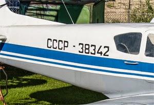 CCCP kode prefix penerbangan Soviet dahulu