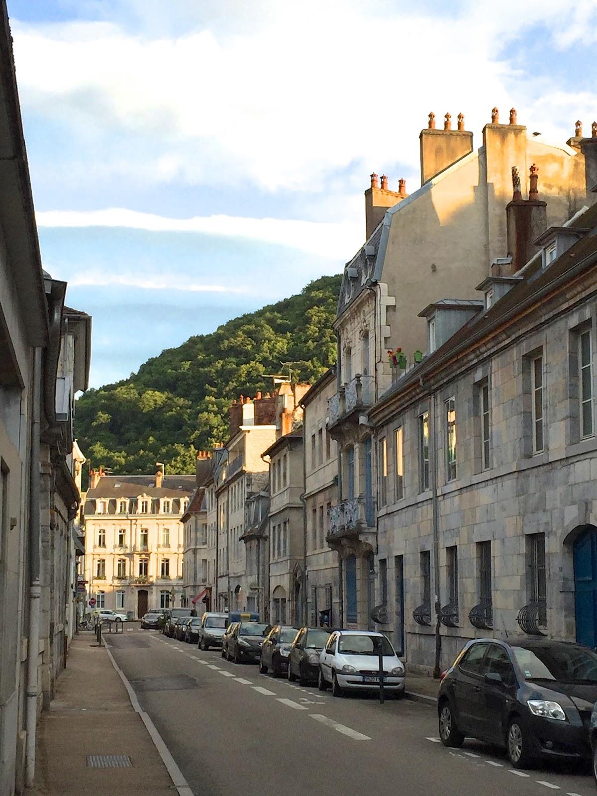 France Besançon in summer 2016