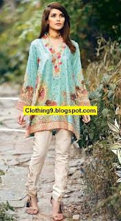Cross Stitch Cotton Satin 2016-2017 Winter Dress Collection