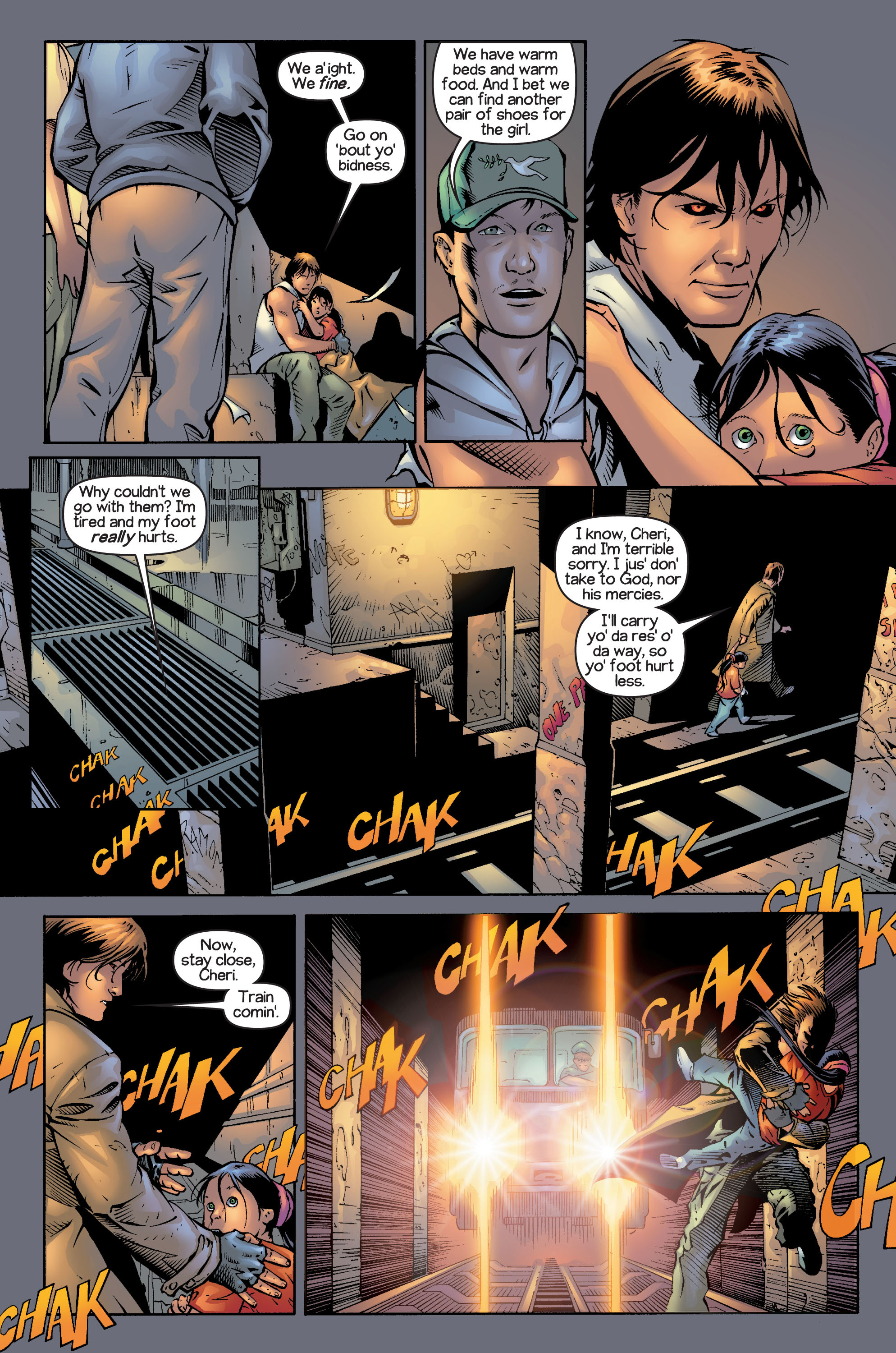 Read online Ultimate X-Men comic -  Issue #13 - 19