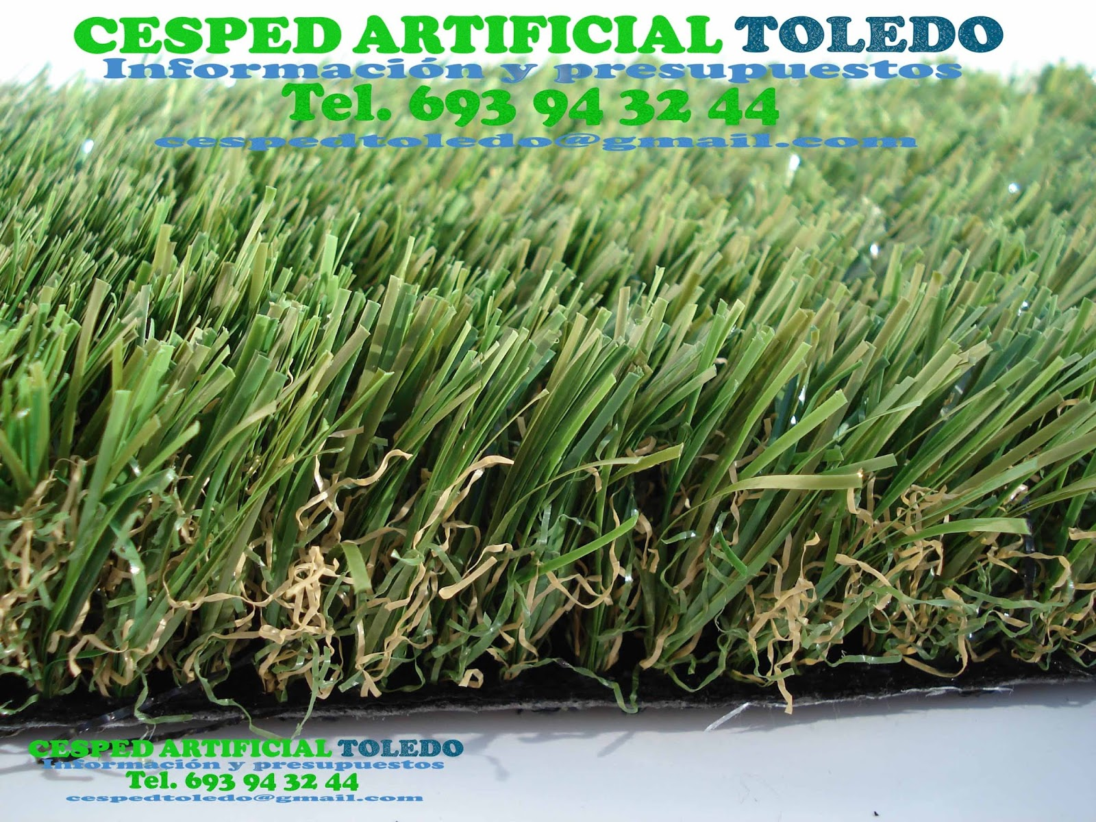 CESPED ARTIFICIAL TOLEDO