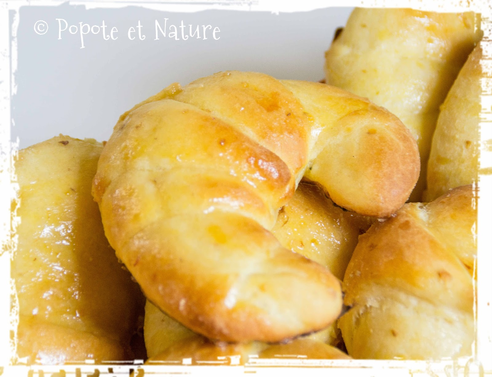 Popote et nature des croissants oui mais avec une p te - Recette de cuisine portugaise avec photo ...