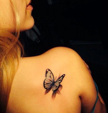 Tatuagem de borboleta de Projetos e Idéias para Mulheres