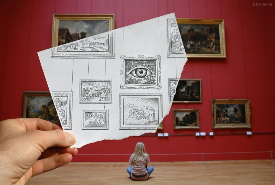 The Art Inquirer: Interview with artist Ben Heine, the ...