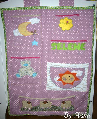 organizador de patchwork para bebes