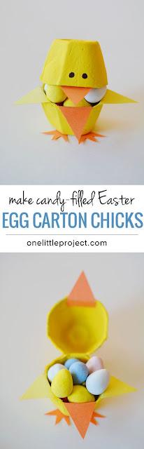easter, crafts, kids, egg carton crafts, easter chicks