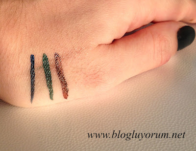 Renkli Likit Eyeliner Flormar Colorliner 5