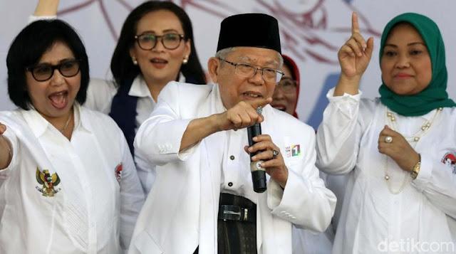 Dipo Alam Heran Maruf Amin Sering Kampanye Identitas Kesukuan