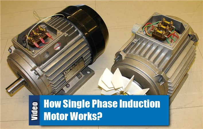 Video How Single Phase Induction Motor Works