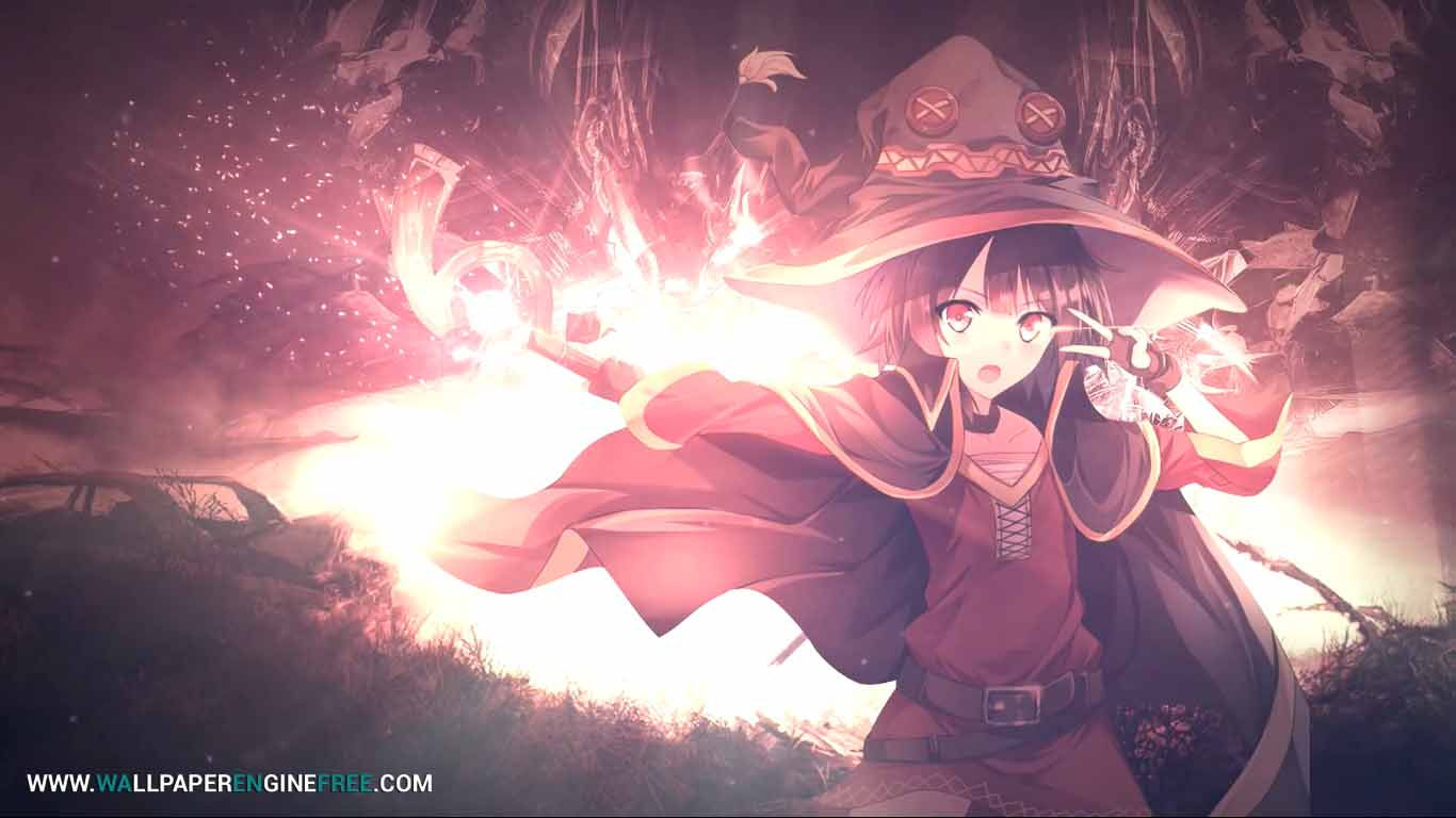 Megumin Anime Wallpaper Engine HD Wallpapers Download Free Images Wallpaper [1000image.com]