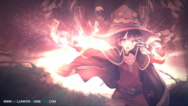 Megumin Anime Wallpaper Engine