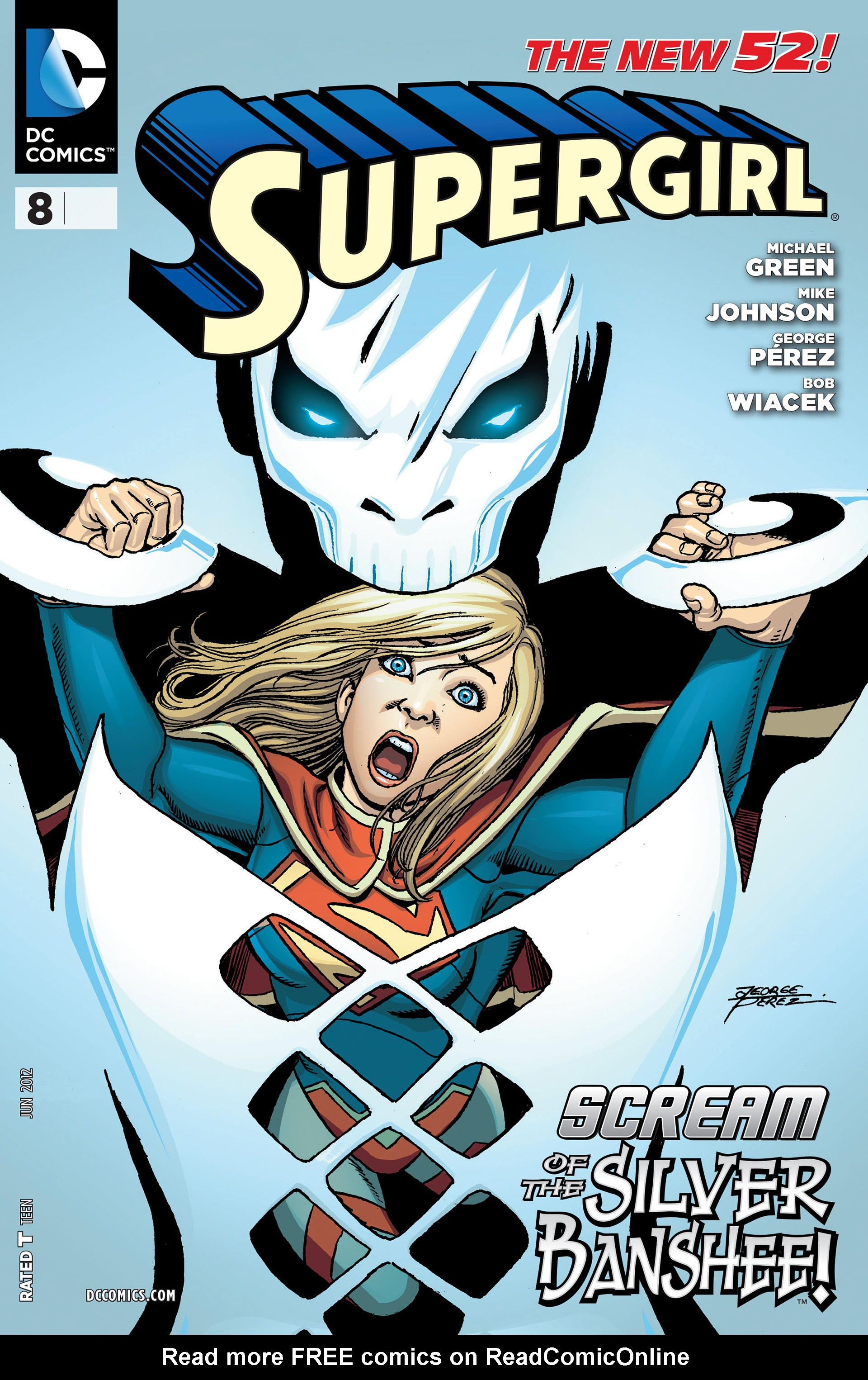 Supergirl (2011) issue 8 - Page 1
